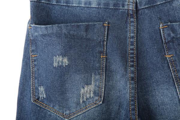 旧牛仔裤的创意改造鞋子步骤